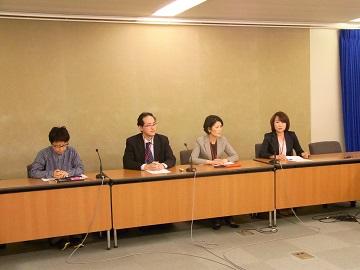 全国がん患者団体連合会による厚生労働省での記者会見(平成28年4月26日)