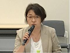 馬上祐子氏(厚生労働省がん対策推進協議会委員/小児脳腫瘍の会代表)