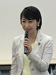 三原じゅん子参議院議員よりご挨拶