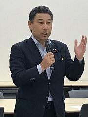 熊野正士参議院議員よりご挨拶